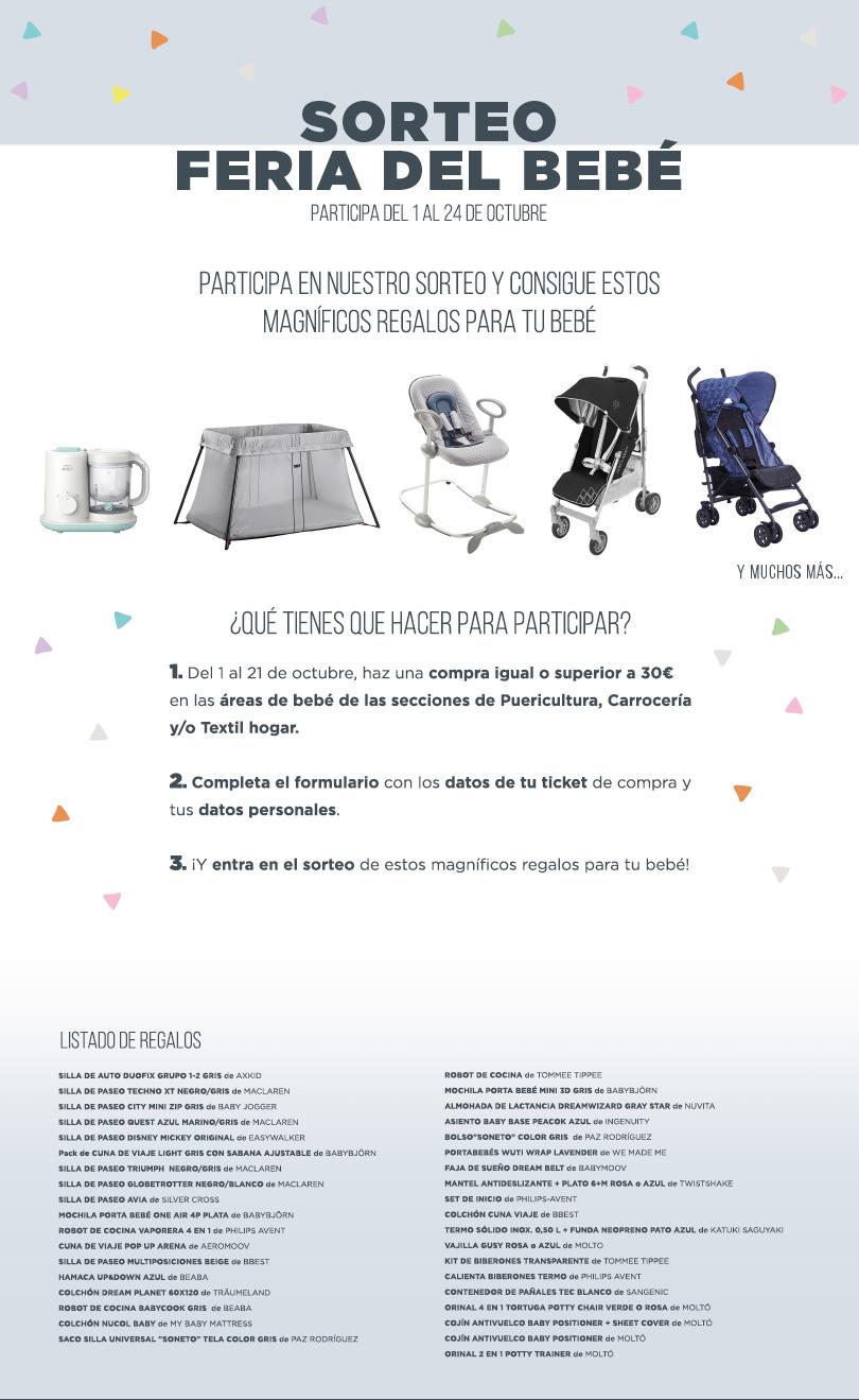 Feria del Bebé  | El Corte Inglés