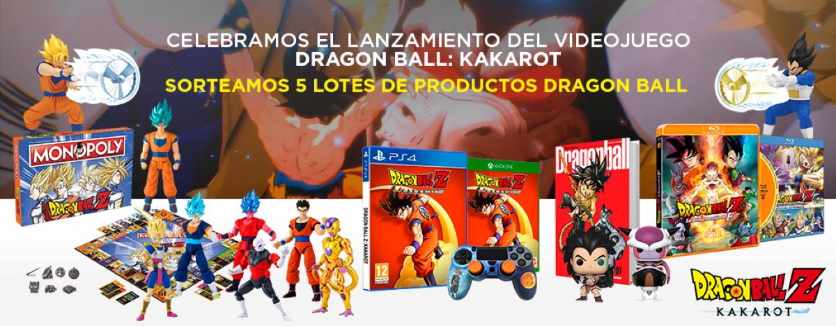 SORTEO DRAGON BALL KAKAROT- El Corte Inglés
