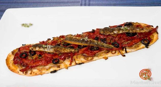 MasterChef: Coca de sardinas con pimientos de Albox