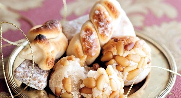 Turrones y dulces. El espíritu de la Navidad