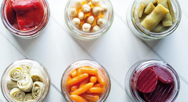 Conservas de verduras. Vegetales 365 días al año.