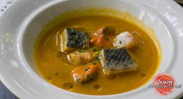 MasterChef Junior 2: Sopa de pescado