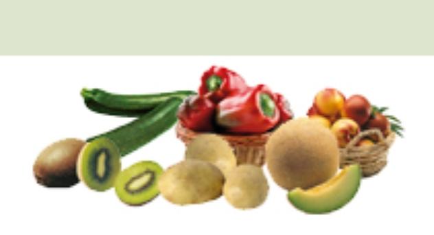 Frutas y verduras de Junio 2014