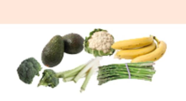 Frutas y verduras de Marzo 2014