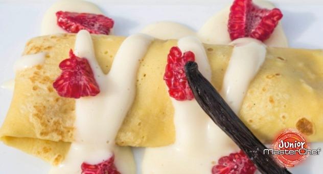 MasterChef Junior 2: Crepes con frutas