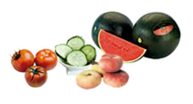 Frutas y verduras de Julio 2013