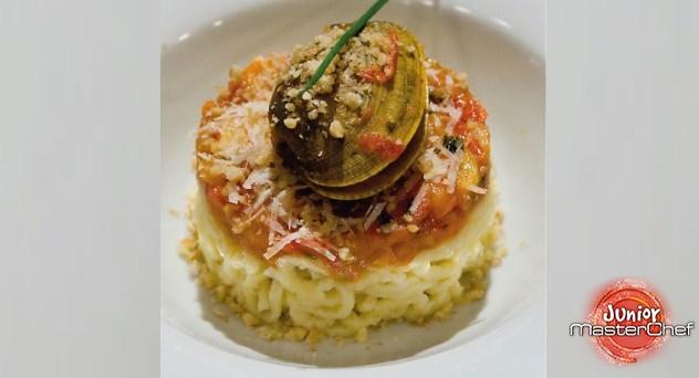 MasterChef Junior 2: Espaguetis sin gluten con salsa vongole