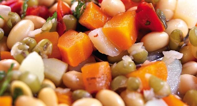 Potaje de soja y verduras