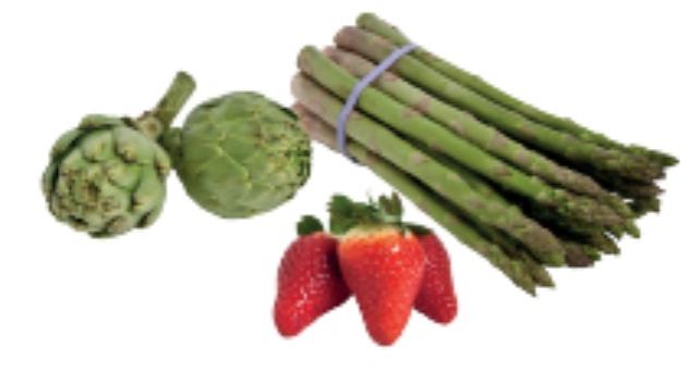 Frutas y verduras del mes de Marzo 2012