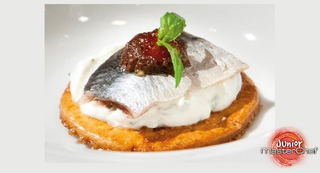 MasterChef Junior 2: Tortitas de sardinas ahumadas
