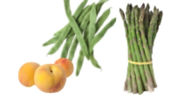 Frutas y verduras del mes de Octubre 2012
