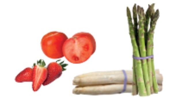 Frutas y verduras del mes de Abril 2012