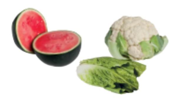Frutas y verduras del mes de Mayo 2012
