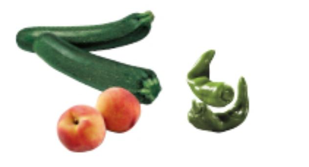 Frutas y verduras del mes de Junio 2012