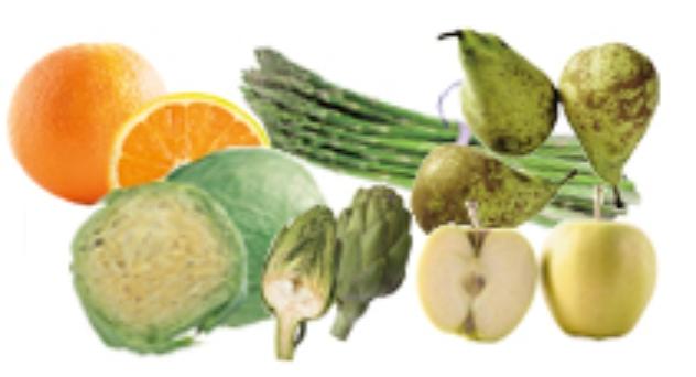 Frutas y verduras de Marzo 2015