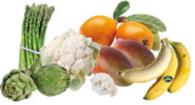 Primavera Frutas y verduras de Abril 2015