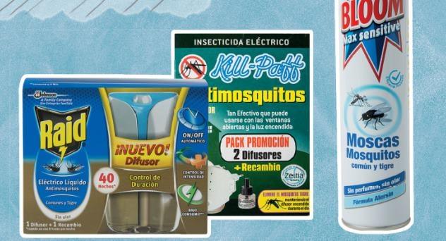 Insecticidas, ¡fuera bicho!