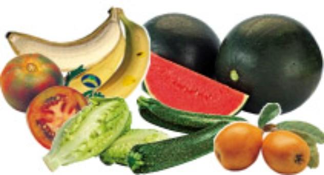 Frutas y verduras de julio 2015