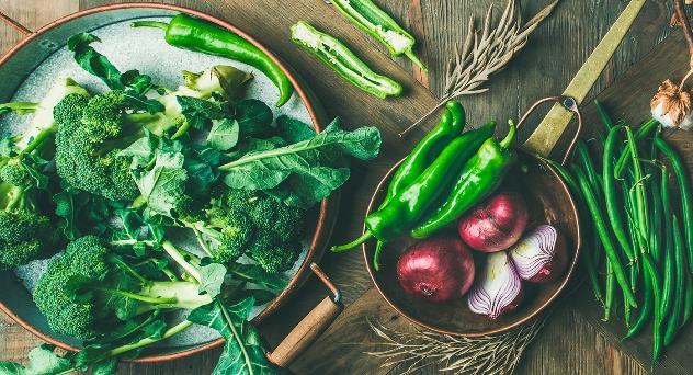 Frutas y verduras del mes de Enero