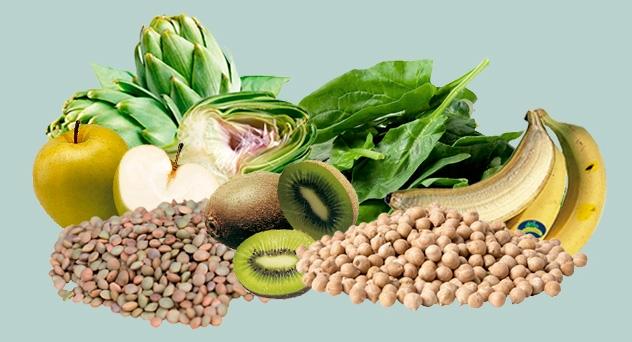 Frutas y verdura del mes de Marzo