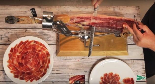 Cómo cortar jamón con COVAP