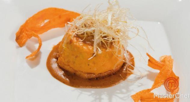 MasterChef 4: Pudding de cabracho con salsa de erizos de mar