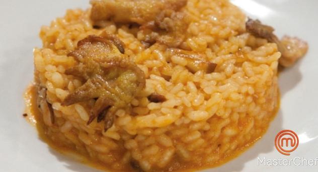 MasterChef 4: Crestas de gallo con arroz