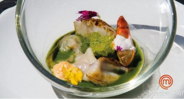 MasterChef 4:  Sopa de pescado y marisco especiada