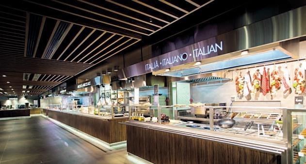 La Plaça Gastro Mercat, el nuevo restaurante panorámico en El Corte Inglés de Plaza Cataluña