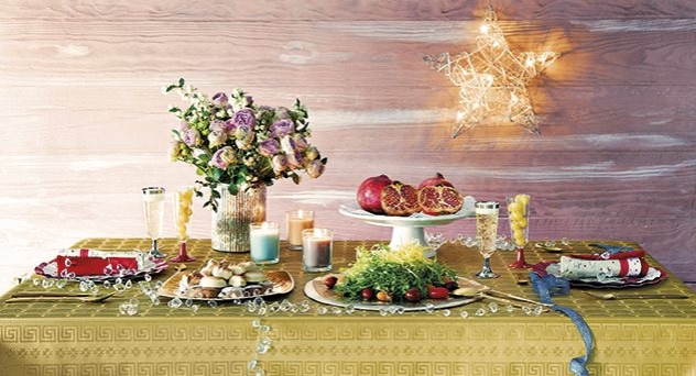 Coordinados desechables, la mesa se viste de gala
