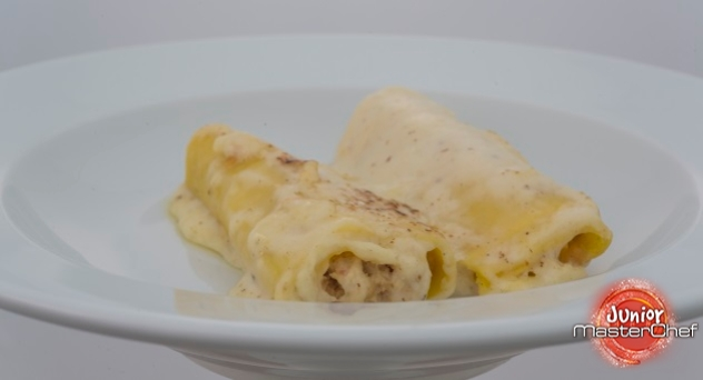 MasterChef Junior 4: Canelones de pollo