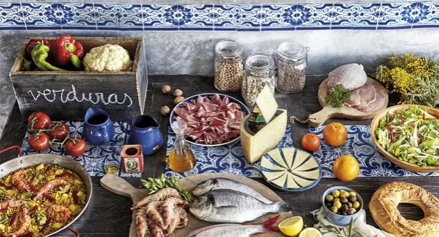 Dieta mediterranea, sabores muy nuestros