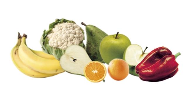 Frutas y verduras del mes de Marzo