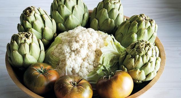 Frutas y verduras del mes de Abril