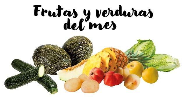 Frutas y verduras del mes de Junio