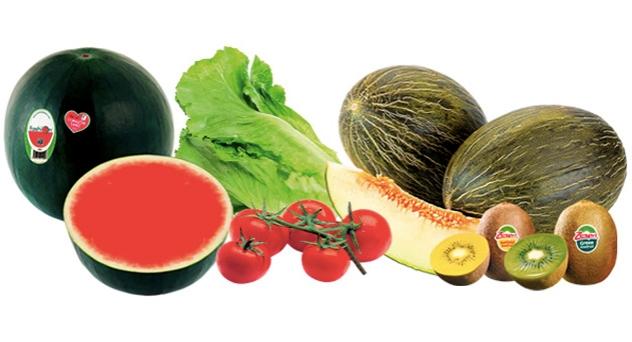 Frutas y verduras del mes de Julio