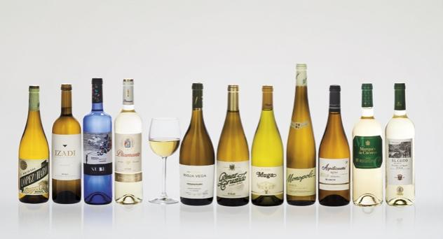 Vinos blancos... y de Rioja