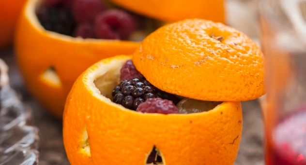 Naranja rellena - #PasateloDeMiedoECI