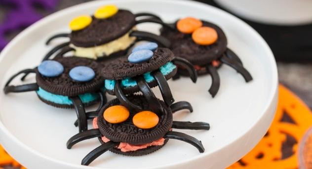 Arañas de galleta - #PasateloDeMiedoECI