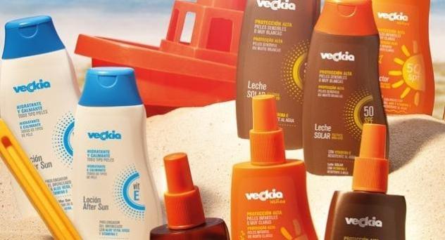 Productos de protección solar VECKIA