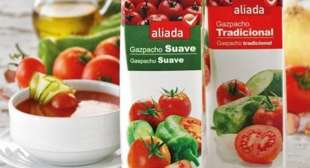 Gazpachos refrigerados ALIADA