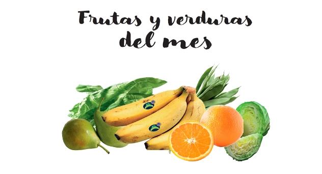 Frutas y verduras del mes de Enero 2018