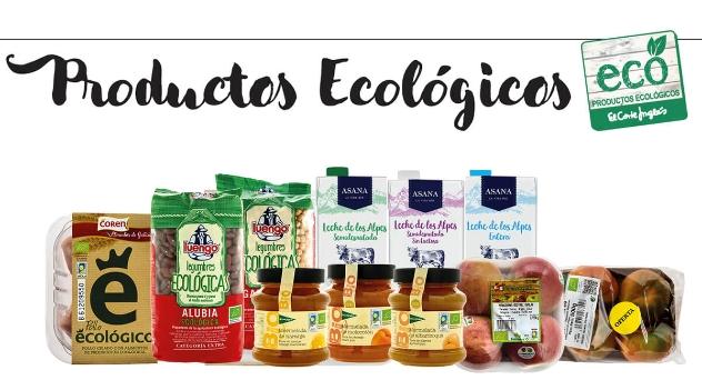 Productos ecológicos marzo 2018