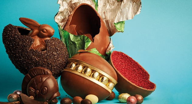 La Pascua sabe a chocolate