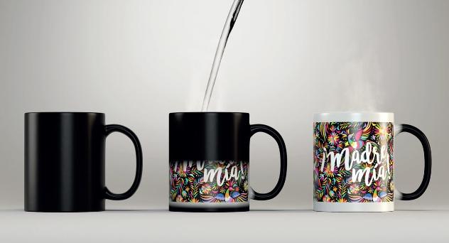 Una taza tan mágica como mamá