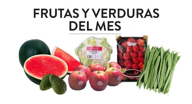 Frutas y verduras del mes de Abril 2018