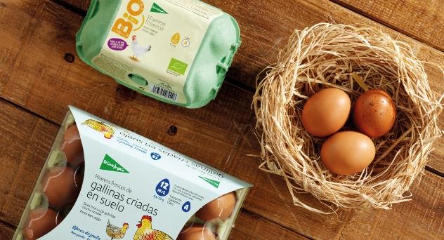 Nuevos huevos bio y de suelo El Corte Inglés