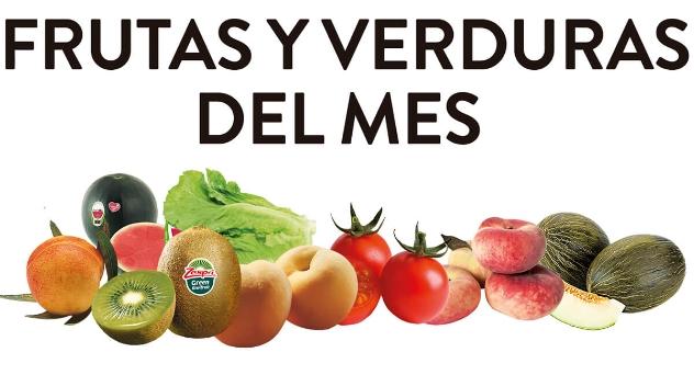 Frutas y verduras del mes de Julio 2018