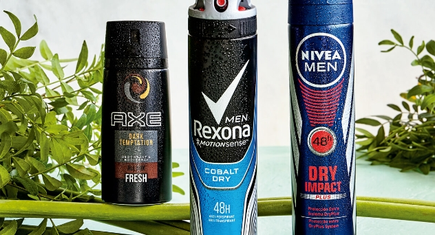 Desodorantes y antitranspirantes siempre frescos