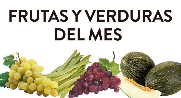 Frutas y verduras del mes de Septiembre 2018